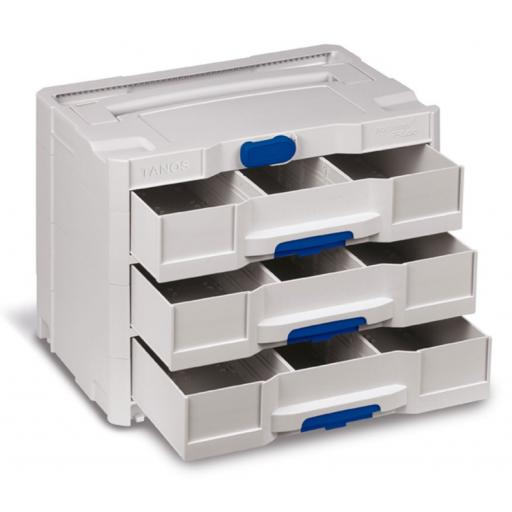 3 Drawer systainer® T-Loc IV-Sortainer (Light Grey)