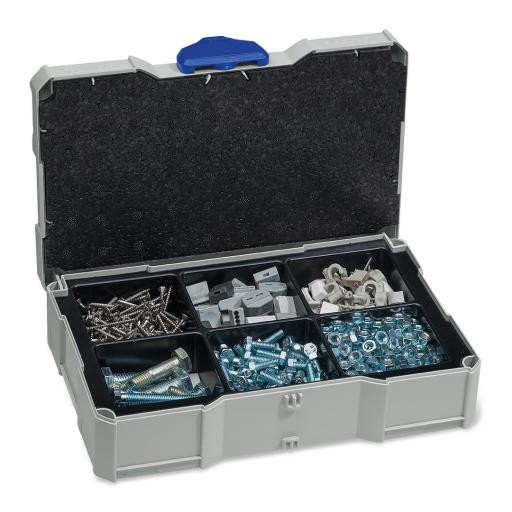 MINI-systainer® I - with 6 compartment insert