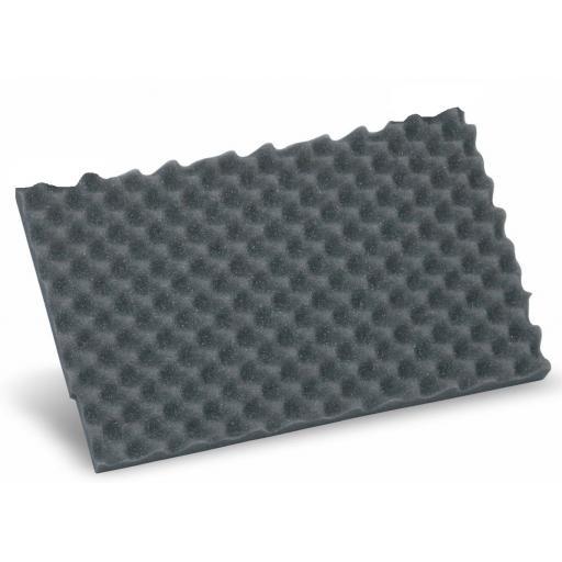 Lid foam, vaulted - fits T-Loc I-V & ³ M