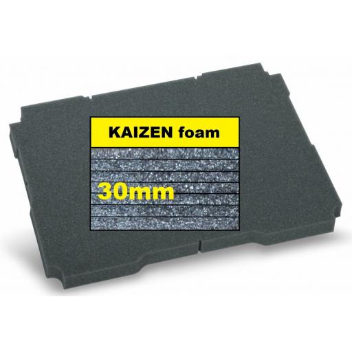 """Kaizen"" Filler foam 30mm - fits T-Loc / ³ M"