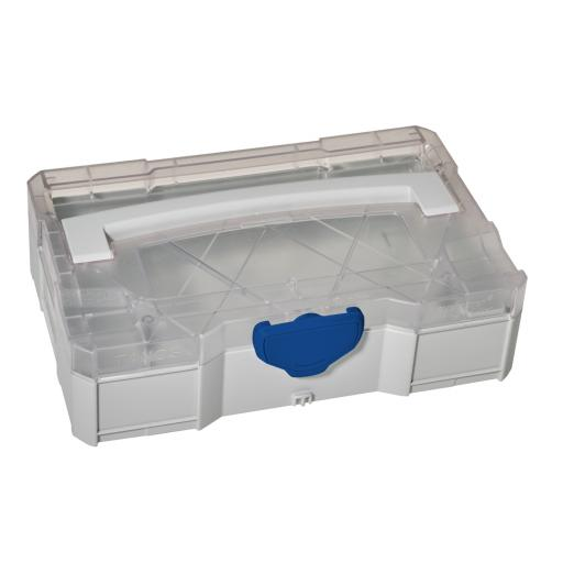 MINI-systainer® I with clear lid (Light Grey)