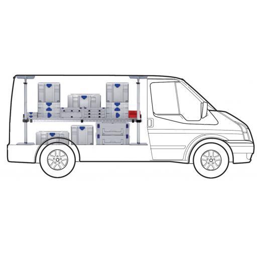 MINI One Shelf van racking kit