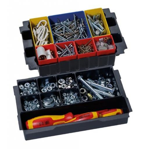Box insert set, 8 compartments, for MINI-systainer® III