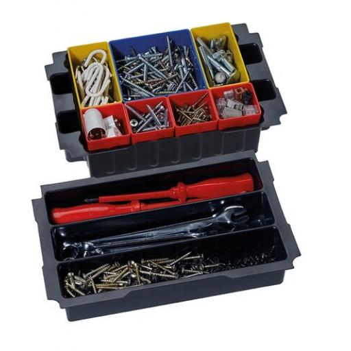Box insert set, 3 compartments, for MINI-systainer® III