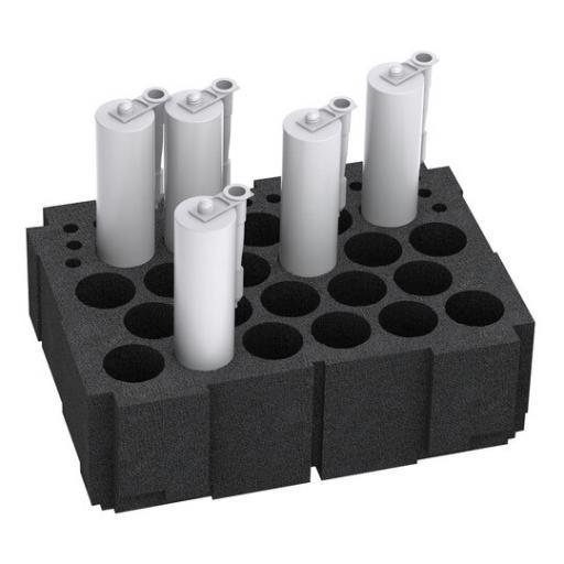 Cartridge insert - fits M 337, M 437, T-Loc IV & V.