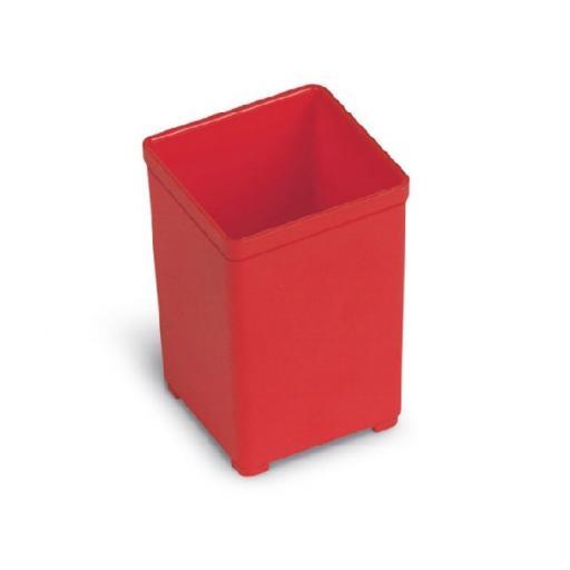 Box insert (red) 49x49mm